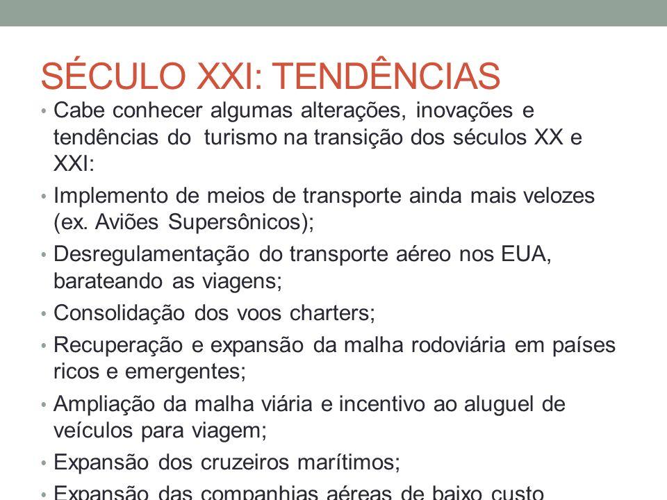 SÉCULO XXI: TENDÊNCIAS