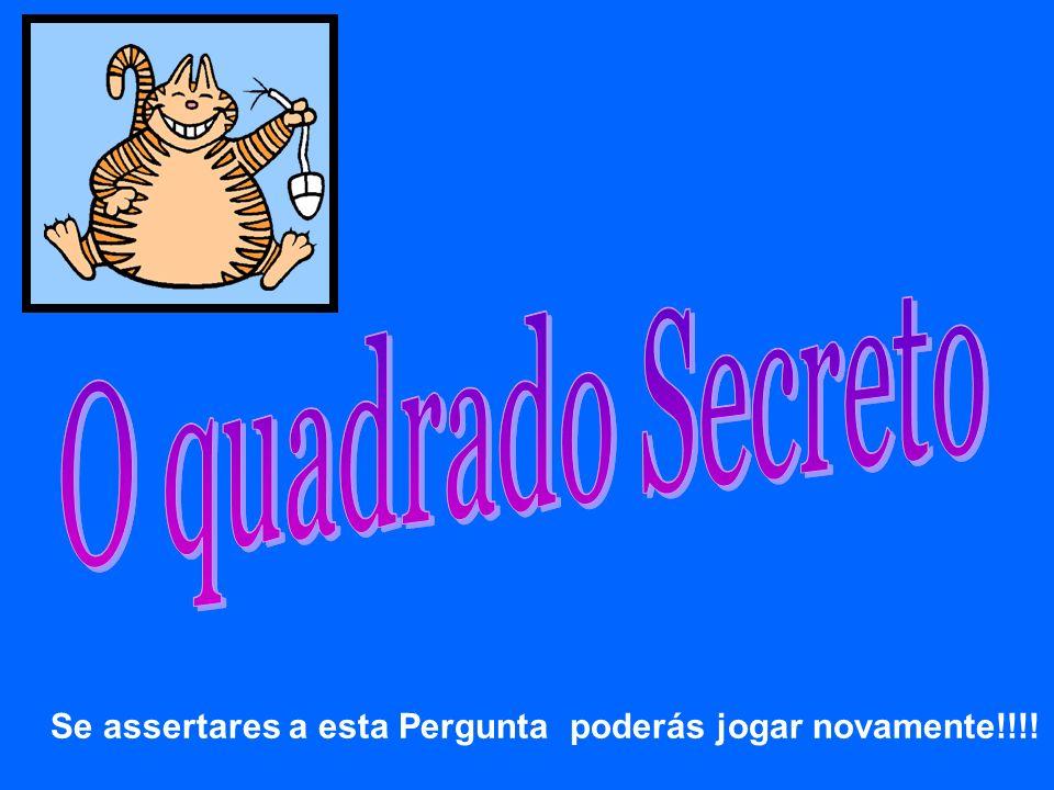 O quadrado Secreto O quadrado Secreto O quadrado Secreto