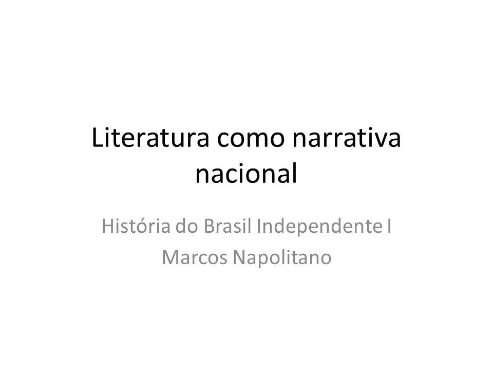 Literatura como narrativa nacional