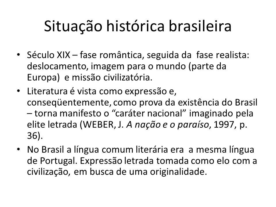 Situação histórica brasileira