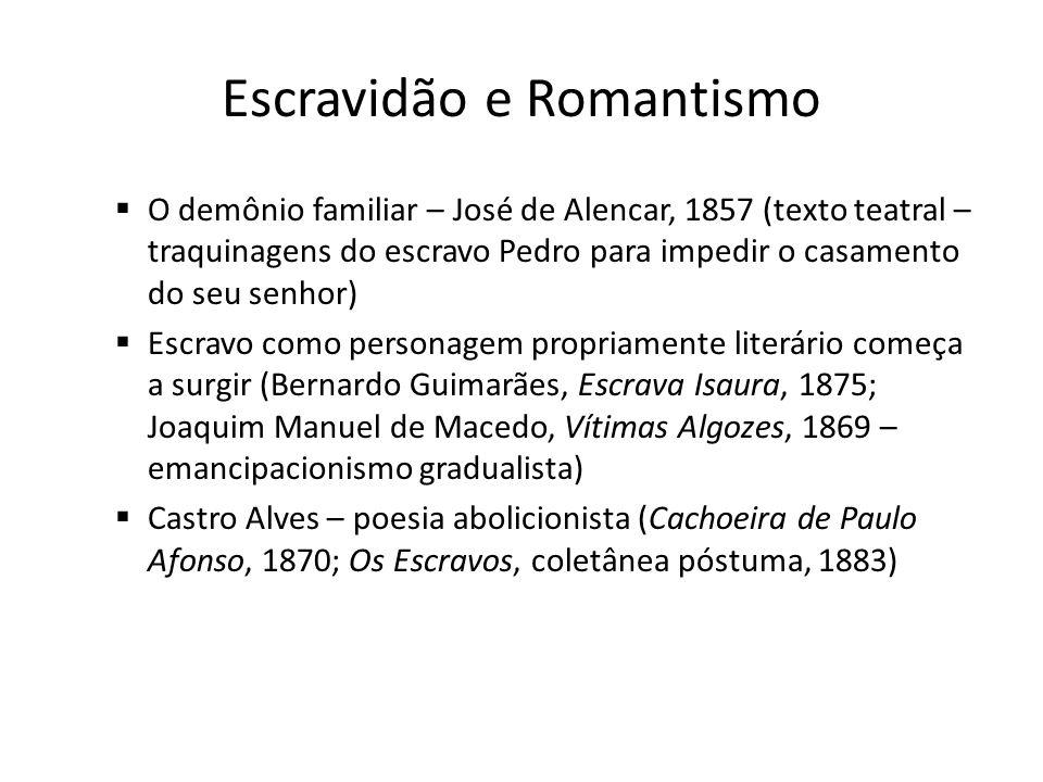 Escravidão e Romantismo