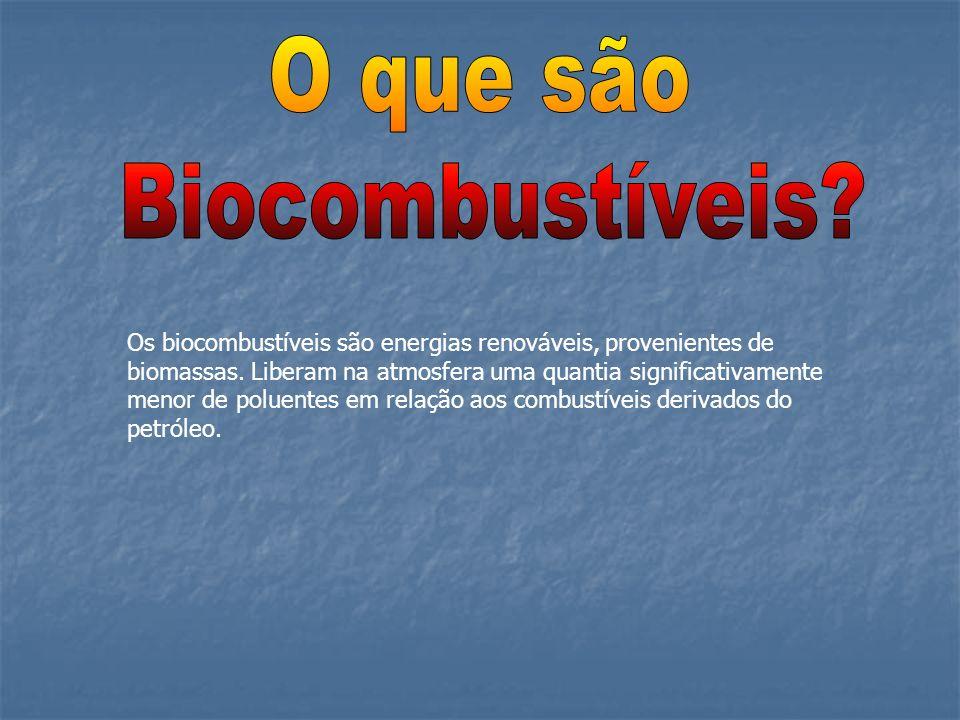 O que são Biocombustíveis