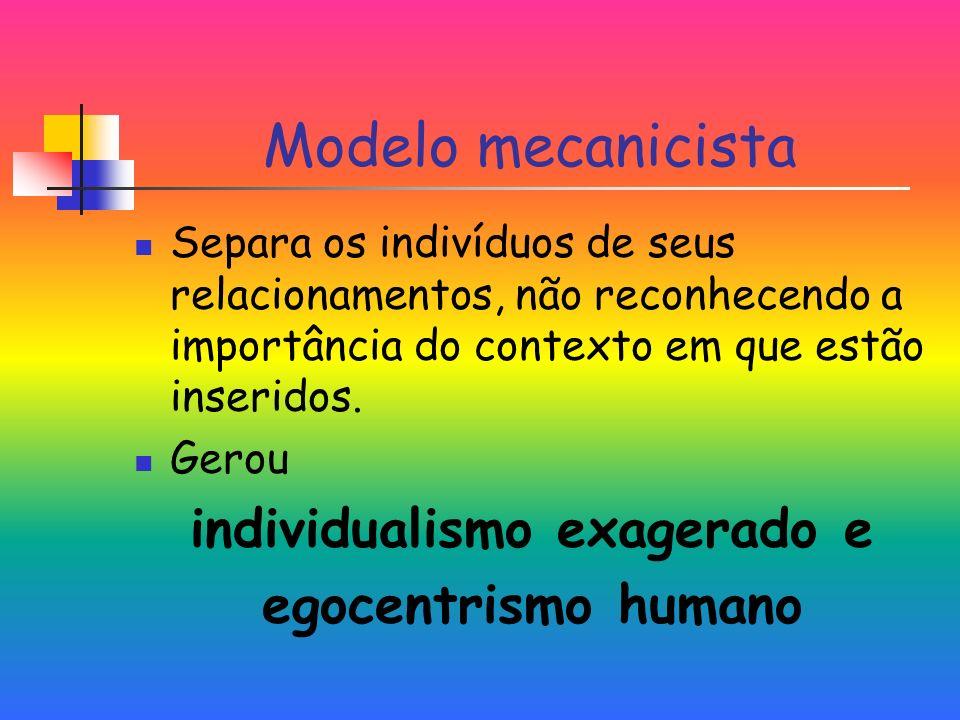 individualismo exagerado e
