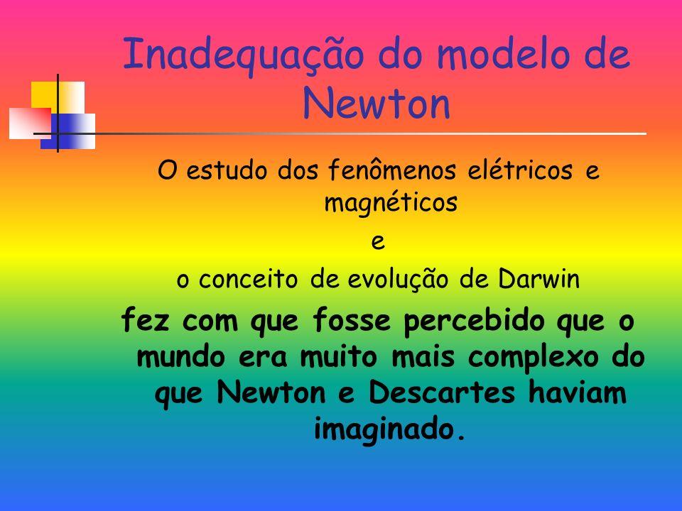 Inadequação do modelo de Newton
