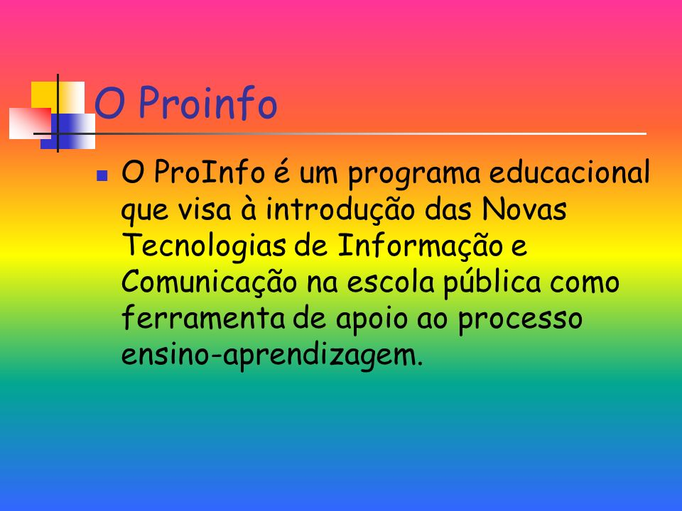 O Proinfo