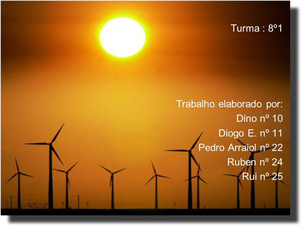 Turma : 8º1 Trabalho elaborado por: Dino nº 10. Diogo E. nº 11. Pedro Arraiol nº 22. Ruben nº 24.