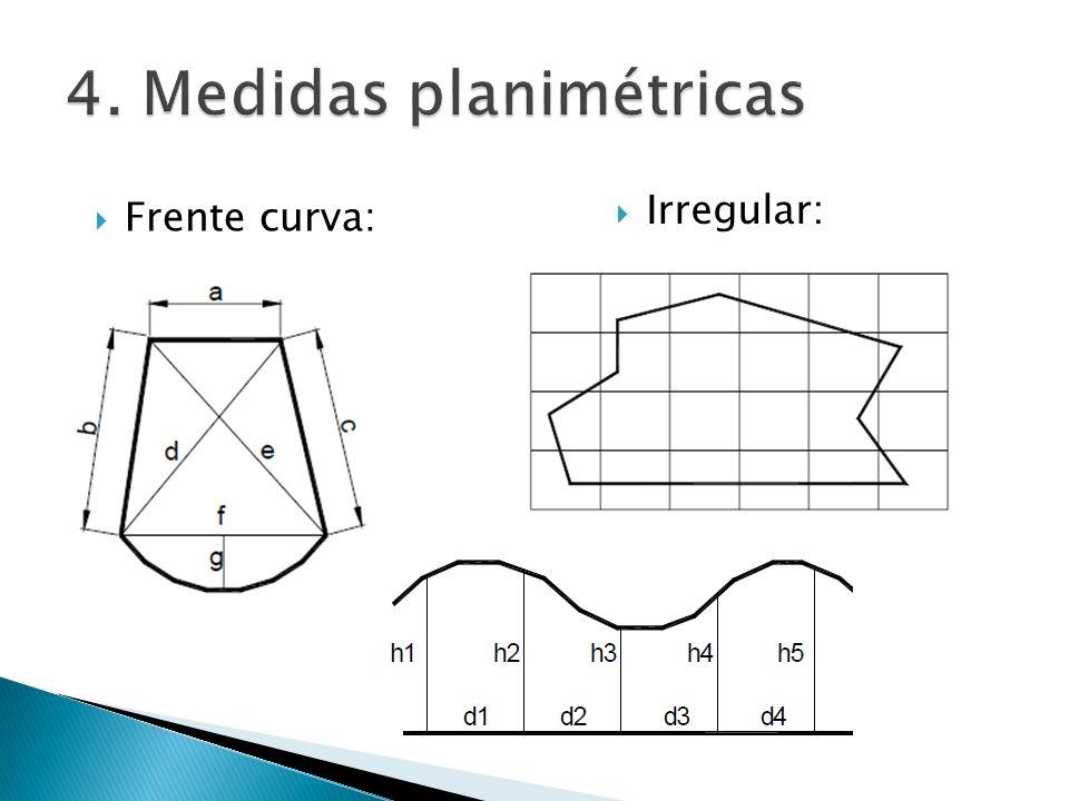 4. Medidas planimétricas