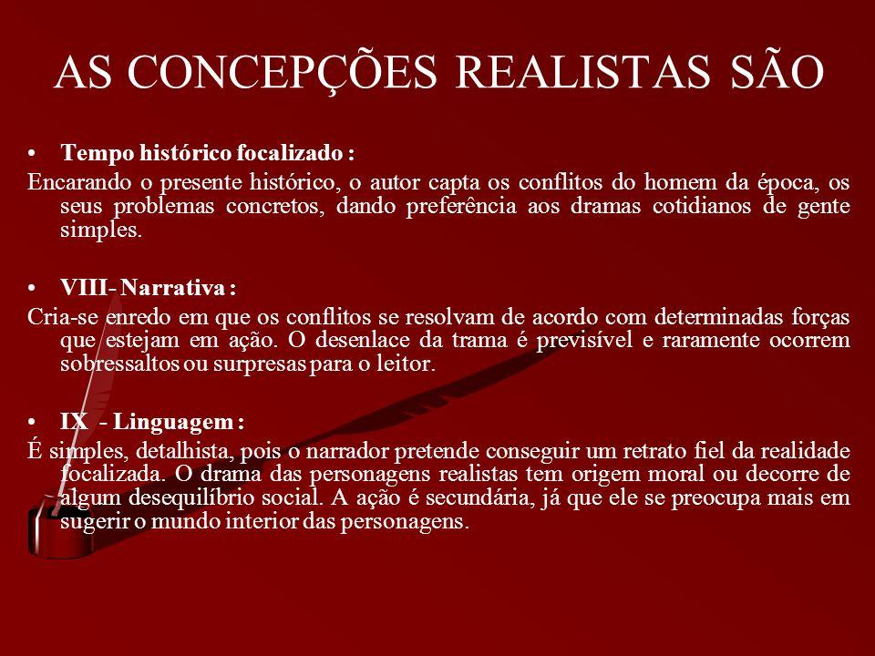 AS CONCEPÇÕES REALISTAS SÃO