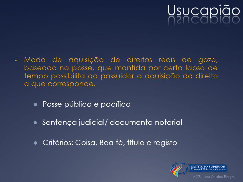 Usucapião