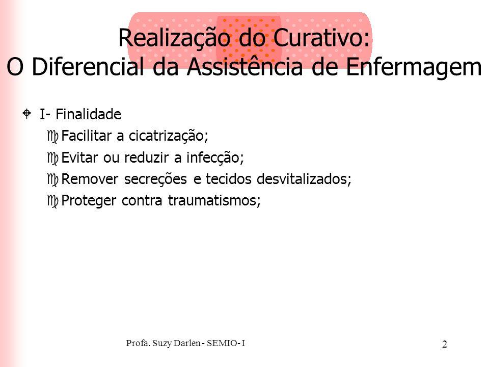 Realização do Curativo: O Diferencial da Assistência de Enfermagem