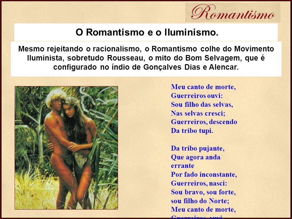 O Romantismo e o lIuminismo.