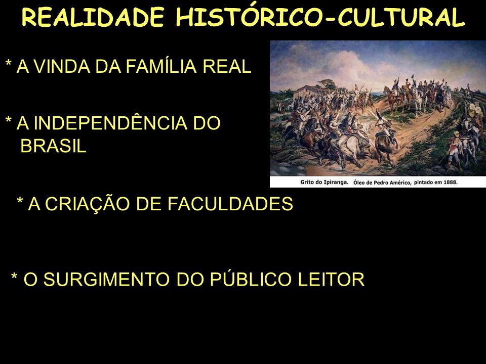 REALIDADE HISTÓRICO-CULTURAL