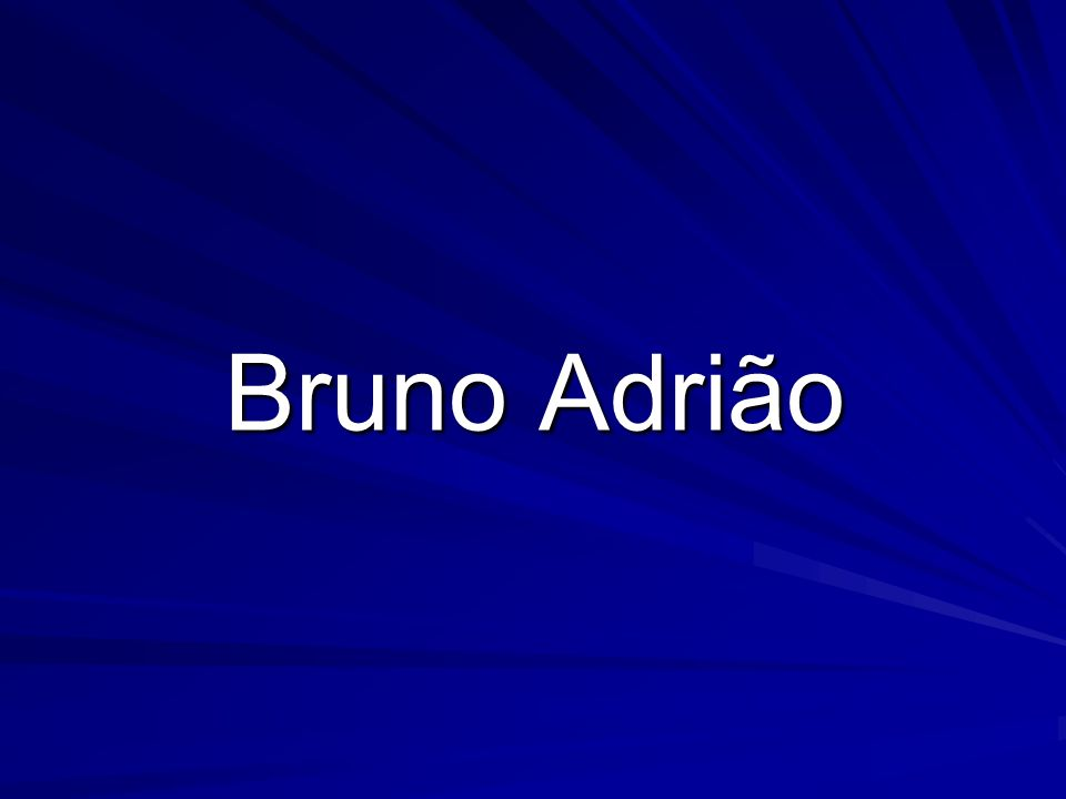 Bruno Adrião