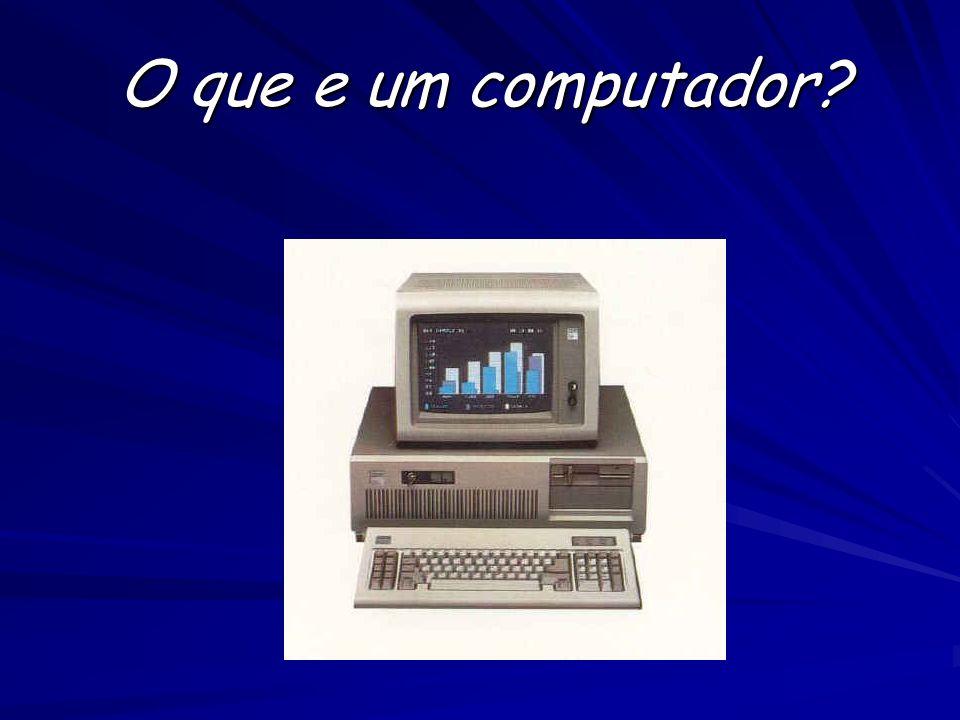 O que e um computador