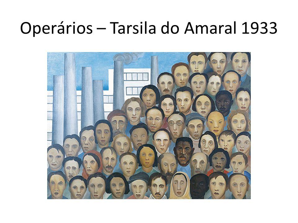 Operários – Tarsila do Amaral 1933
