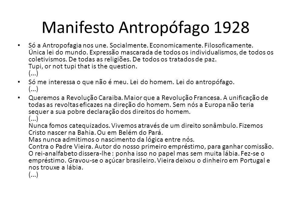 Manifesto Antropófago 1928