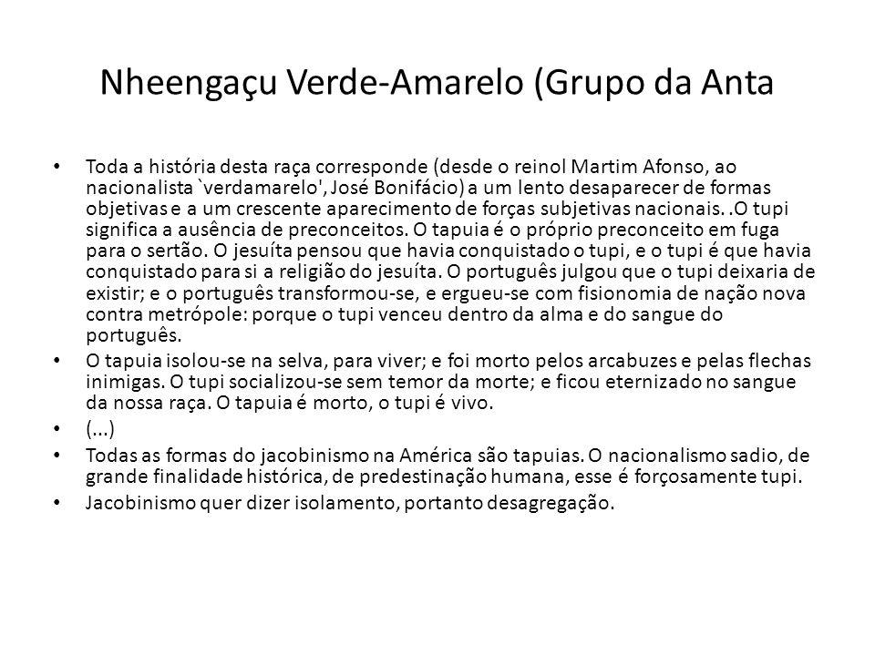 Nheengaçu Verde-Amarelo (Grupo da Anta