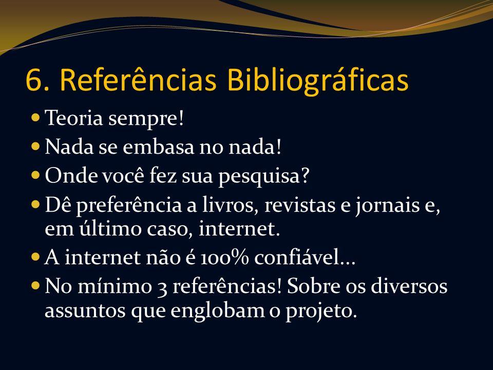 6. Referências Bibliográficas