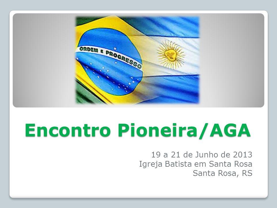 Encontro Pioneira/AGA