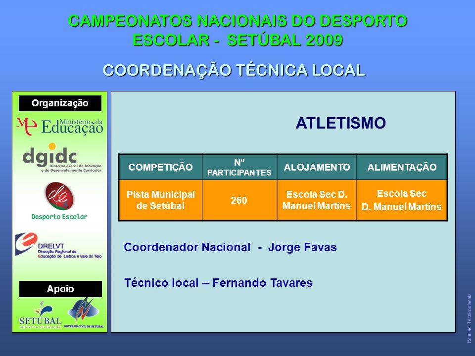 Pista Municipal de Setúbal Escola Sec D. Manuel Martins
