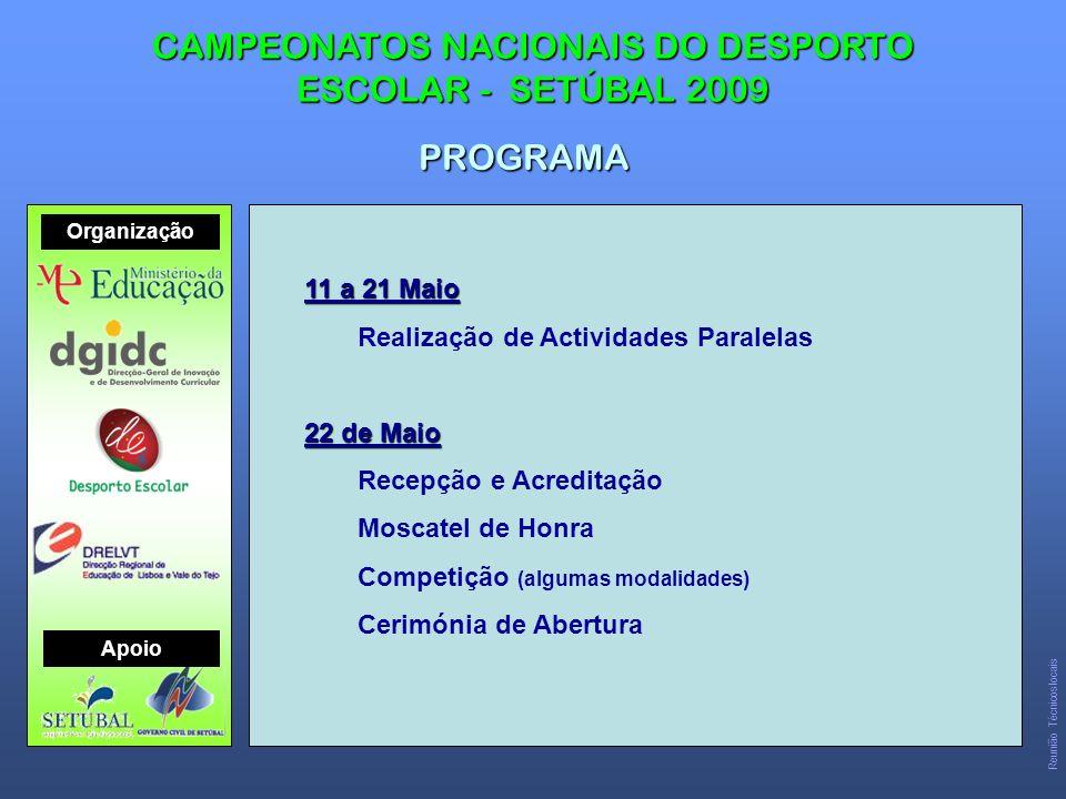 CAMPEONATOS NACIONAIS DO DESPORTO ESCOLAR - SETÚBAL 2009