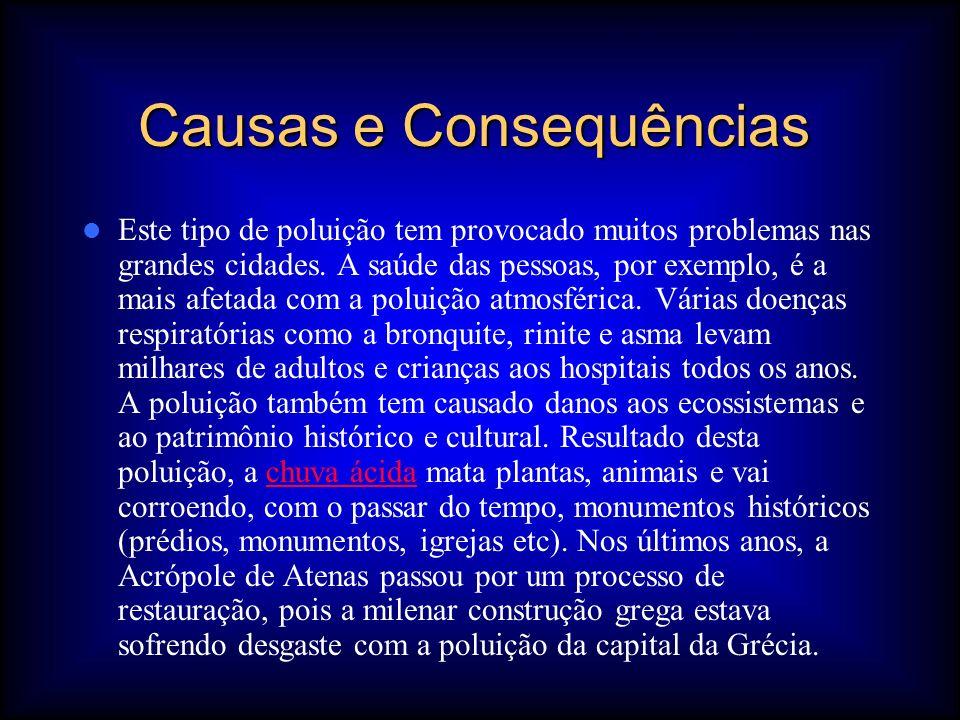 Causas e Consequências