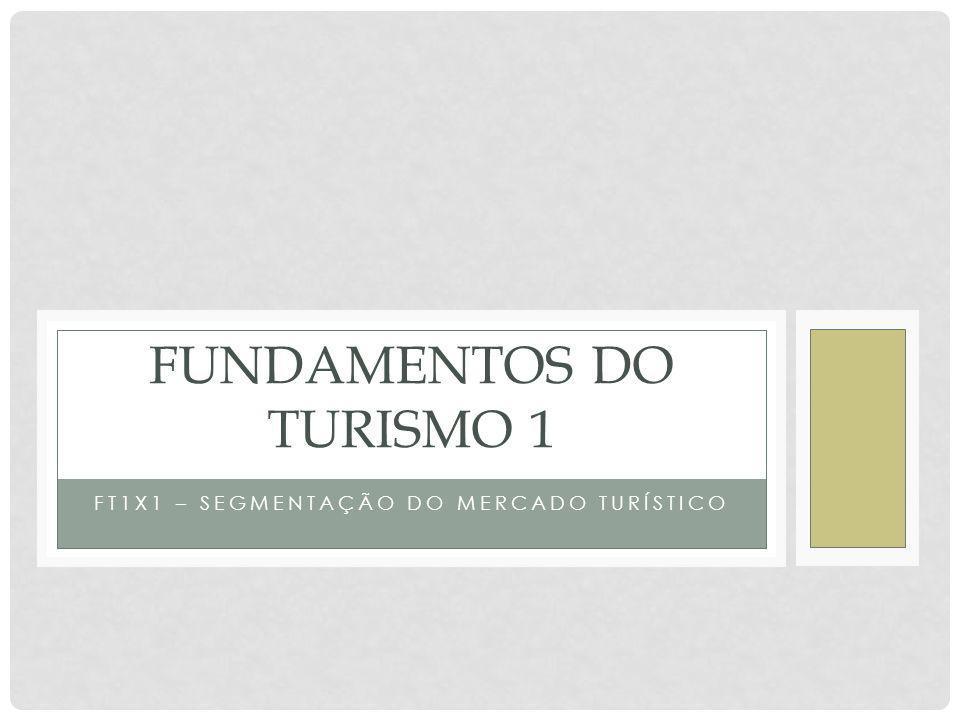 FUNDAMENTOS DO TURISMO 1