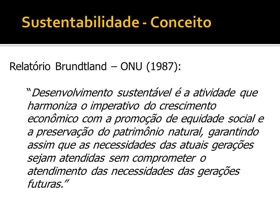 Sustentabilidade - Conceito