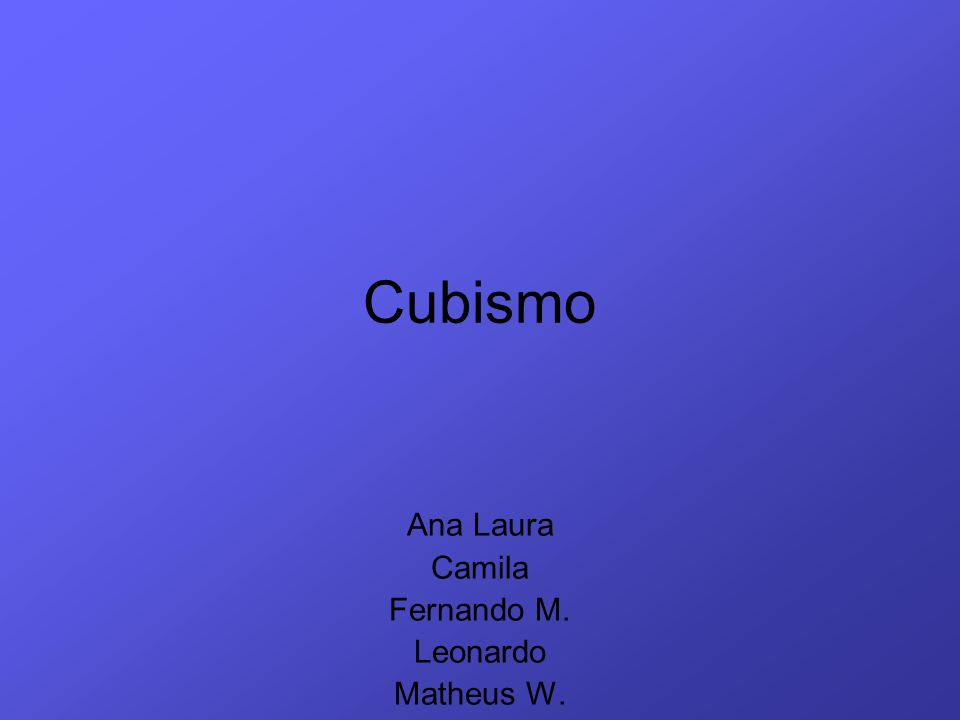 Ana Laura Camila Fernando M. Leonardo Matheus W.