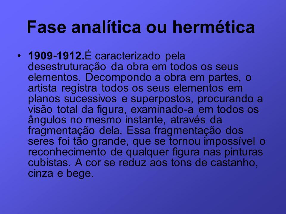 Fase analítica ou hermética