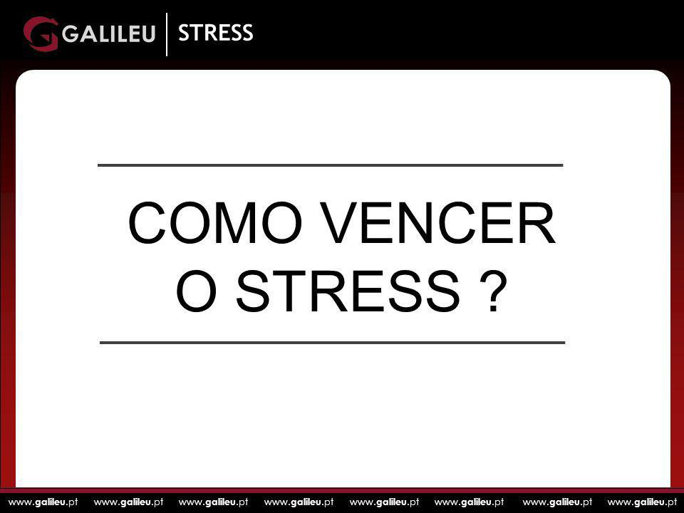 STRESS COMO VENCER O STRESS