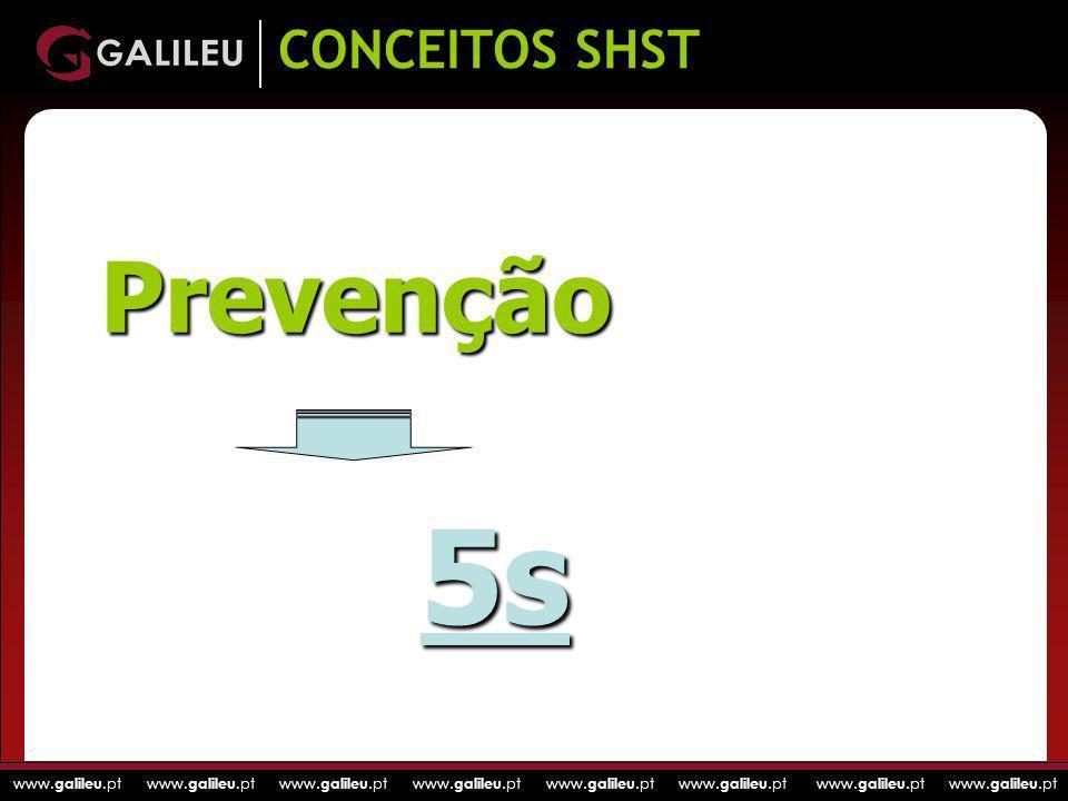 CONCEITOS SHST Prevenção 5s