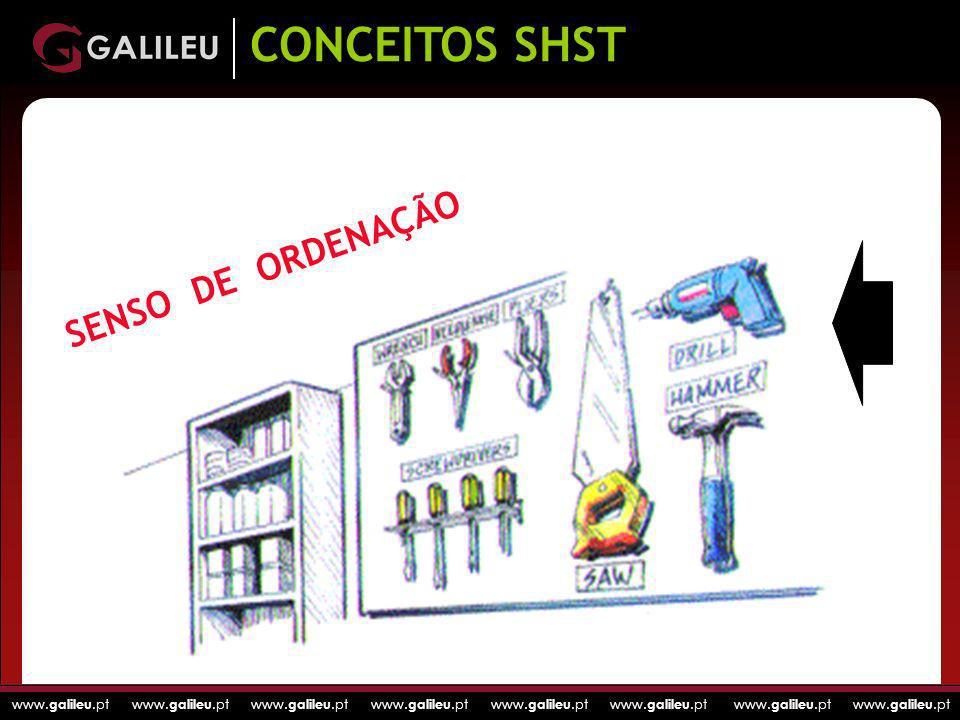 CONCEITOS SHST SENSO DE ORDENAÇÃO