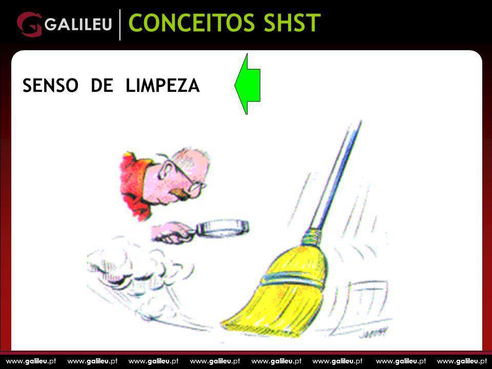 CONCEITOS SHST SENSO DE LIMPEZA