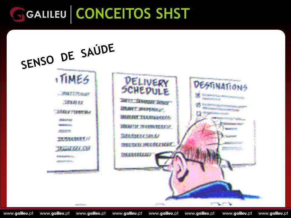 CONCEITOS SHST SENSO DE SAÚDE