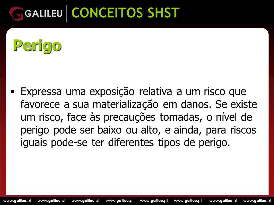 CONCEITOS SHSTPerigo.