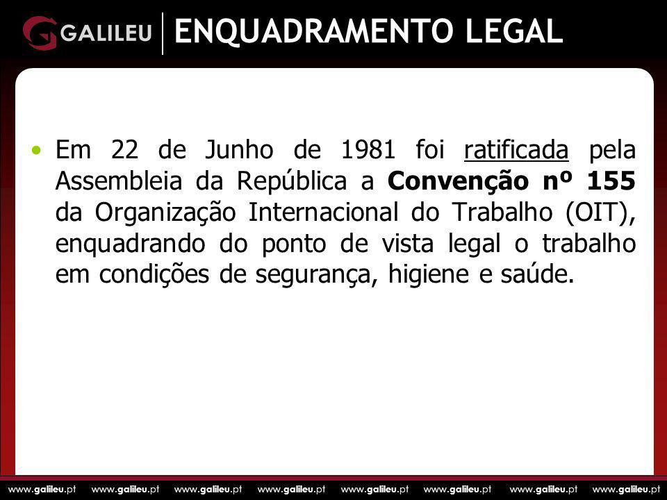 ENQUADRAMENTO LEGAL