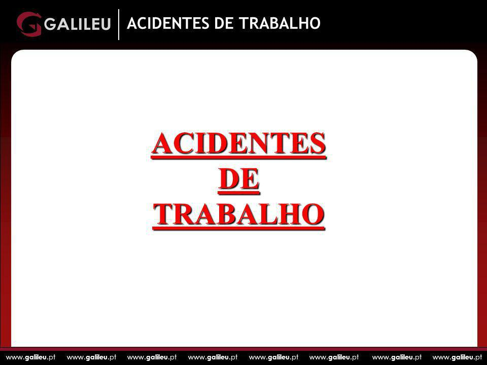 ACIDENTES DE TRABALHO ACIDENTES DE TRABALHO