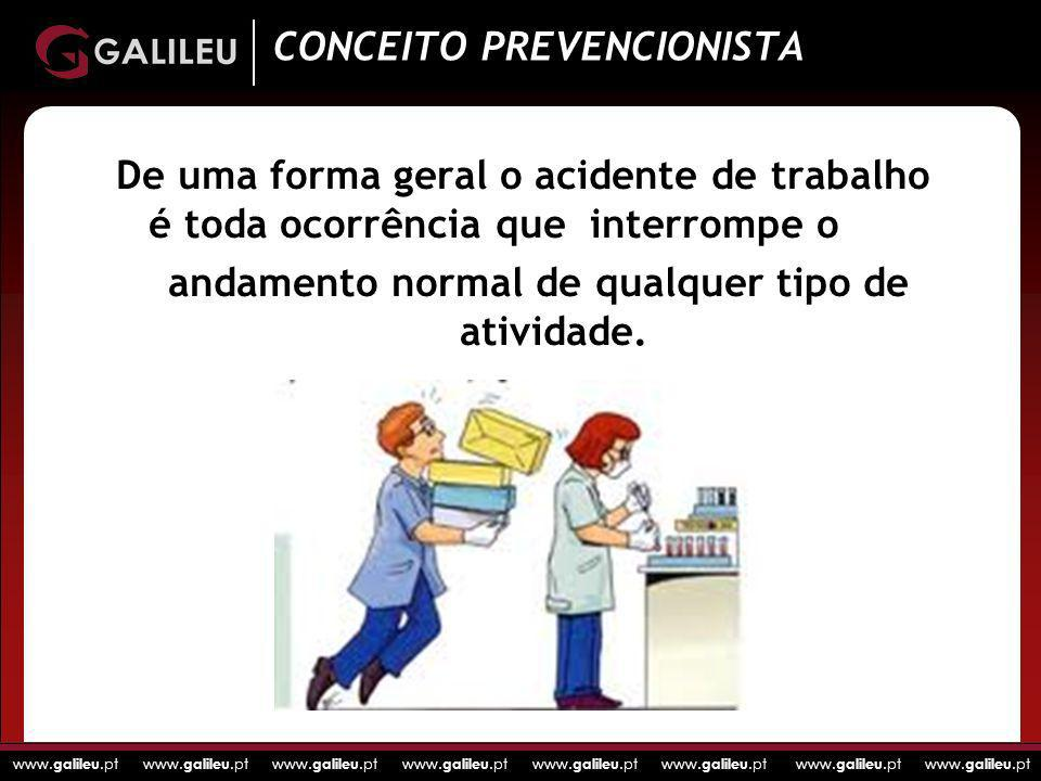 CONCEITO PREVENCIONISTA