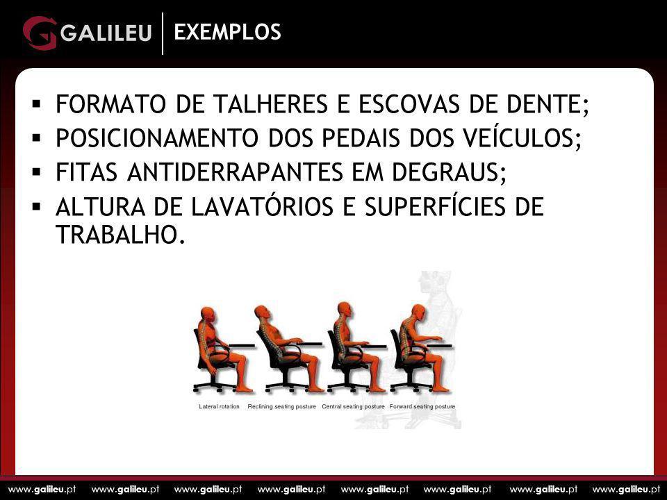 FORMATO DE TALHERES E ESCOVAS DE DENTE;