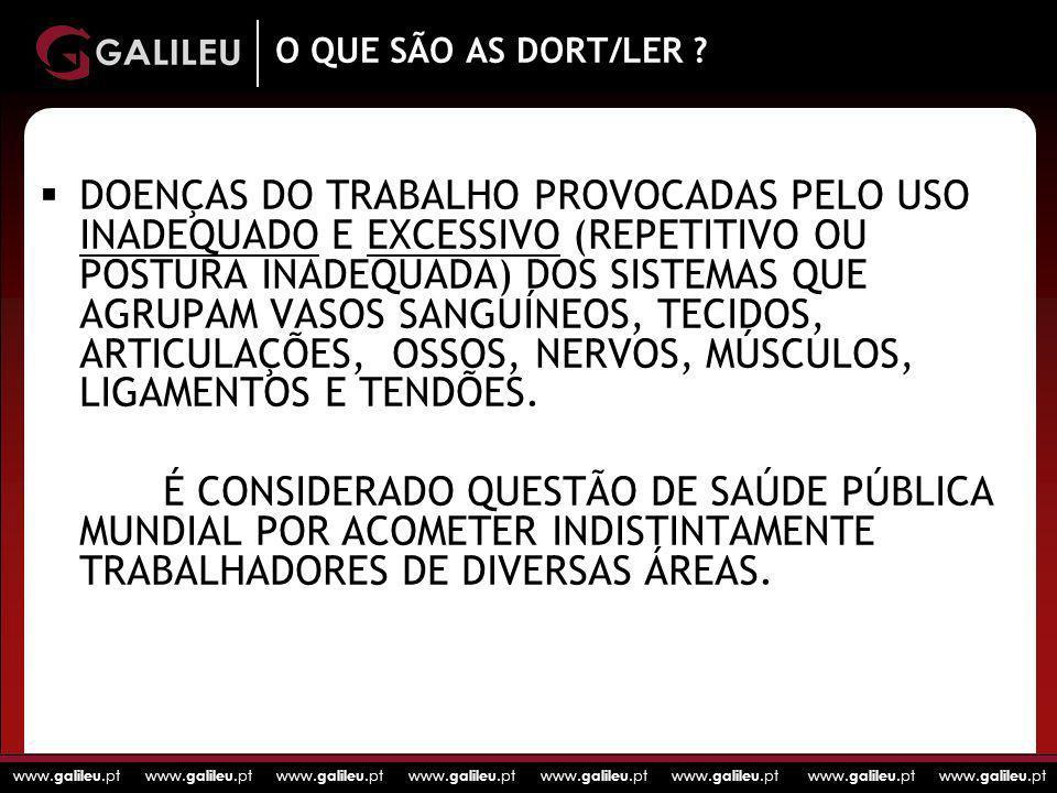 O QUE SÃO AS DORT/LER