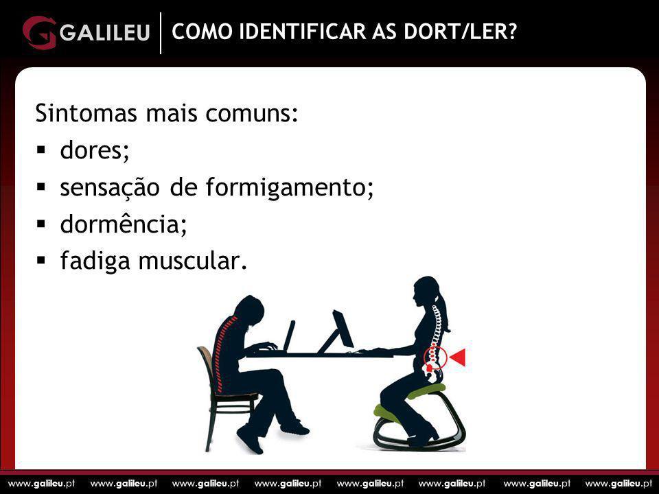 COMO IDENTIFICAR AS DORT/LER
