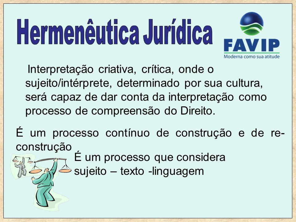 Hermenêutica Jurídica