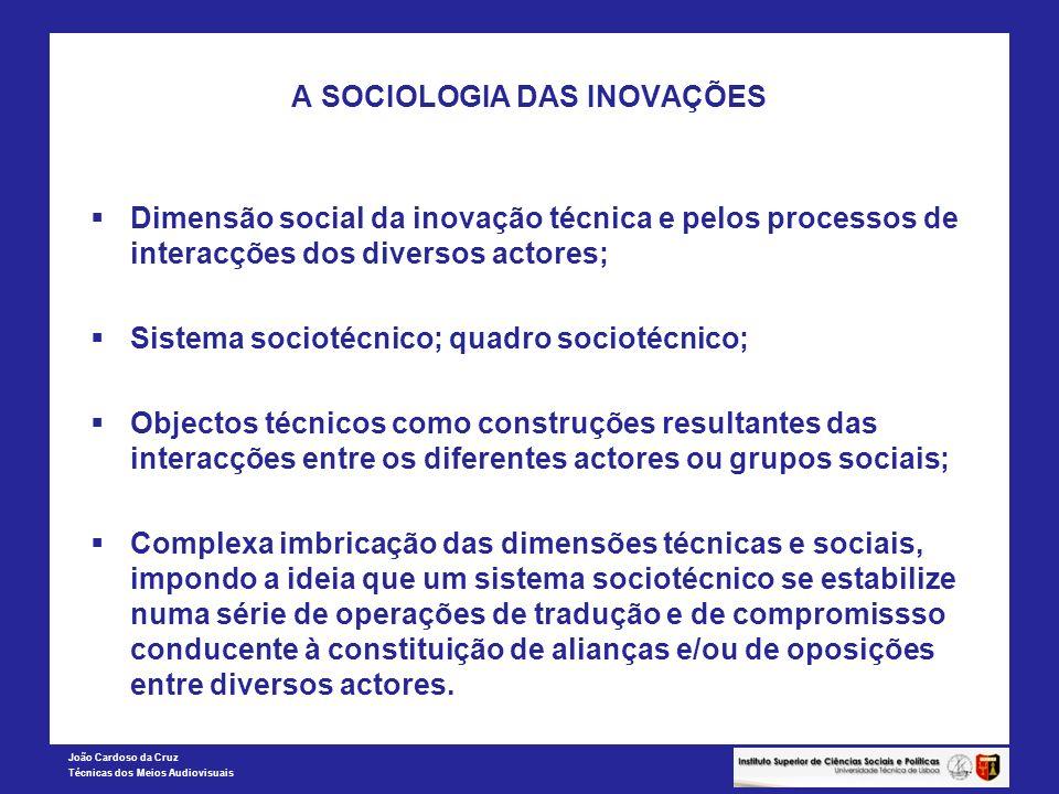 A SOCIOLOGIA DAS INOVAÇÕES