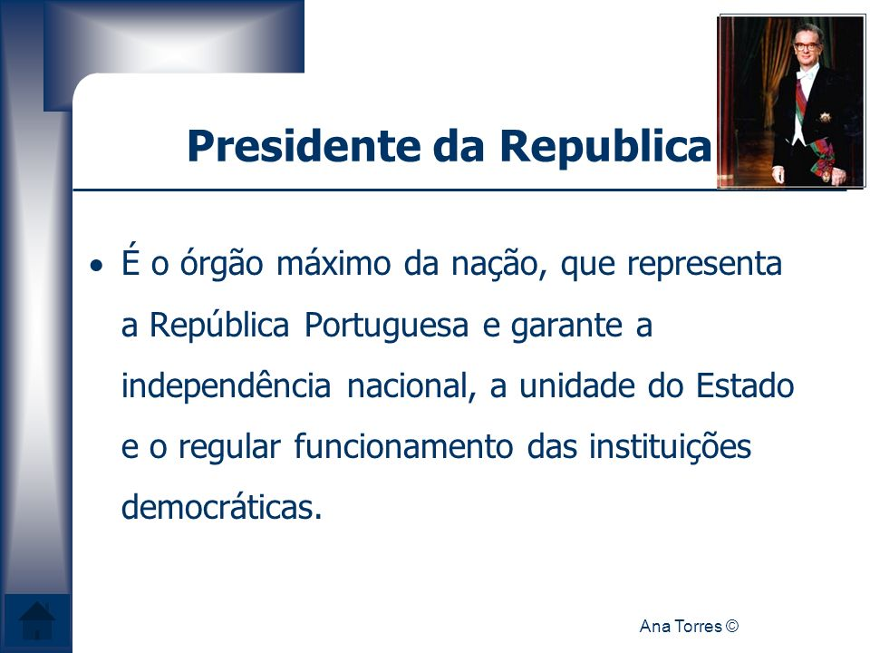 Presidente da Republica