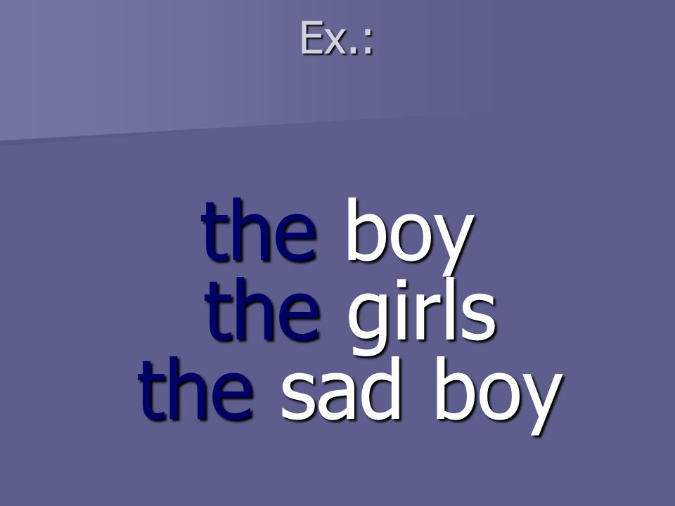 the boy the girls the sad boy