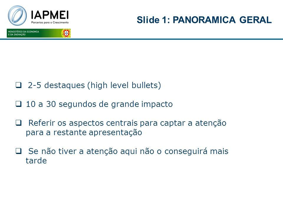 Slide 1: PANORAMICA GERAL