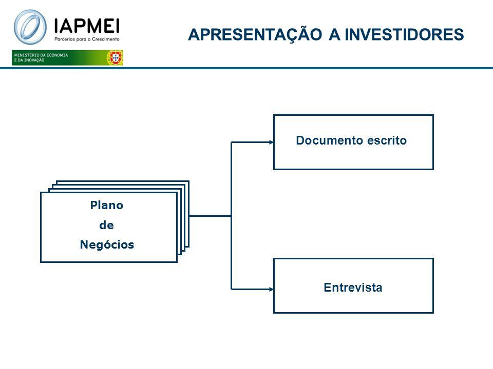 APRESENTAÇÃO A INVESTIDORES