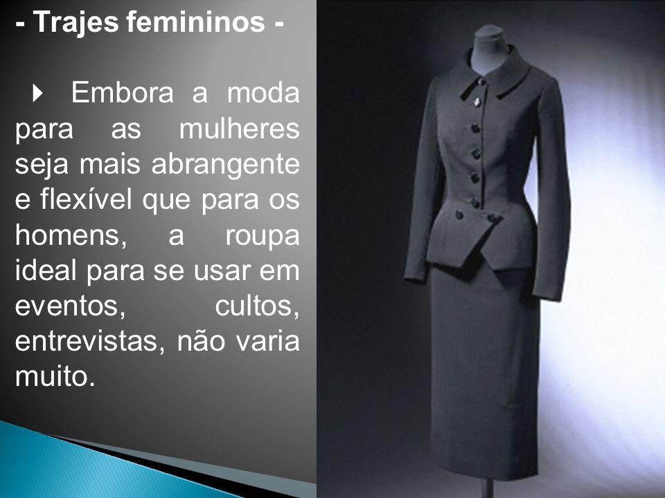 - Trajes femininos -