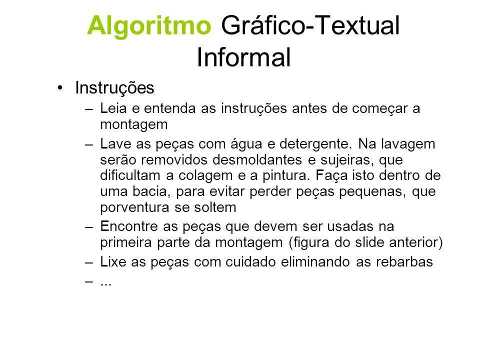 Algoritmo Gráfico-Textual Informal